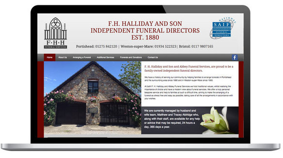 A New Responsive Website For Weston Super Mare Funeral Director