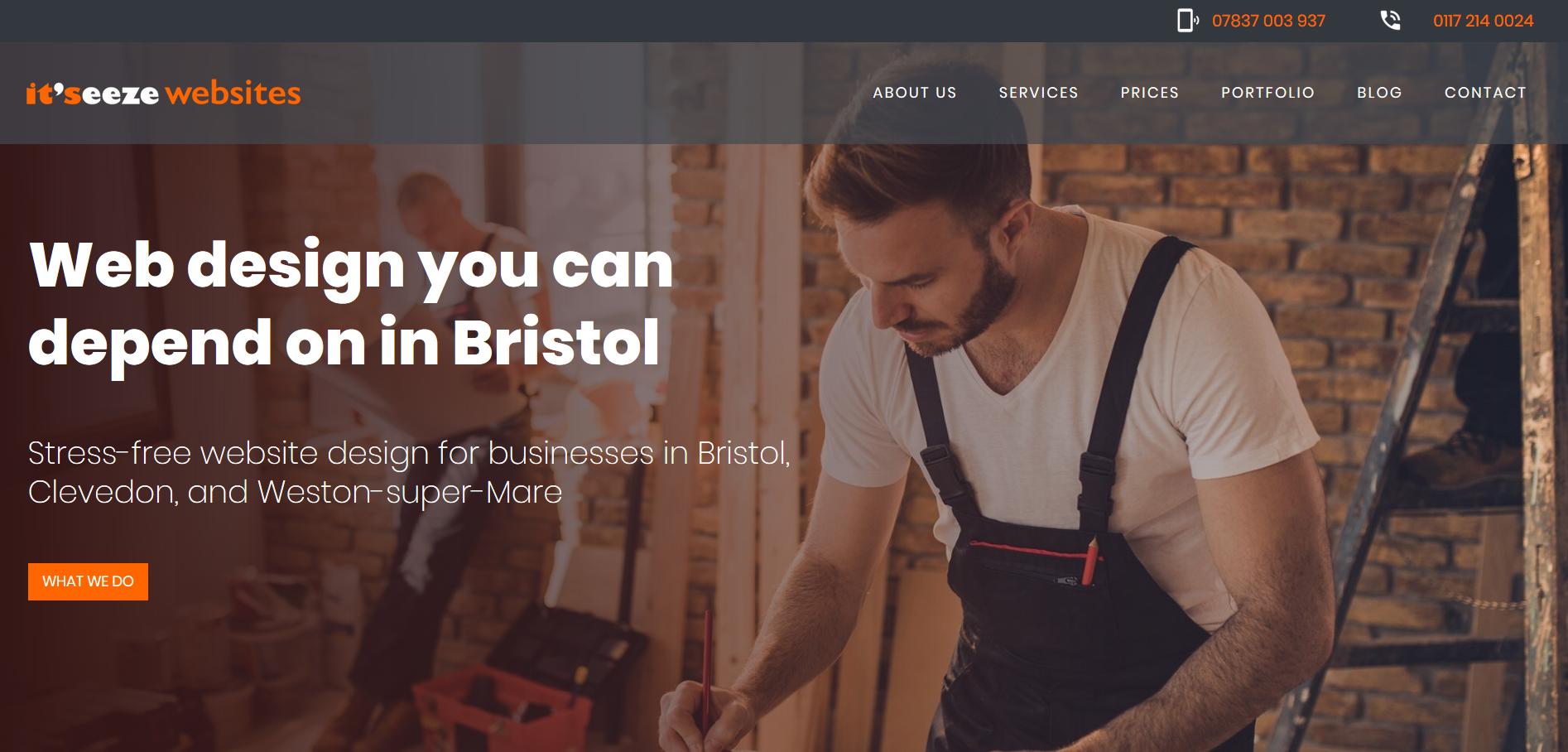 It Seeze Web Design Bristol Web Design Weston Super Mare